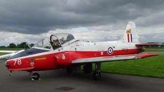 BAC Jet Provost XW318 first time out of the hangar at Teuge Airport