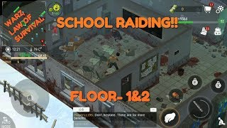 CLEARING SCHOOL FLOOR-1 AND 2(WARZ: LAW OF SURVIVAL)