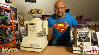 Zelda bought me a Omnibot 2000 for my birthday!