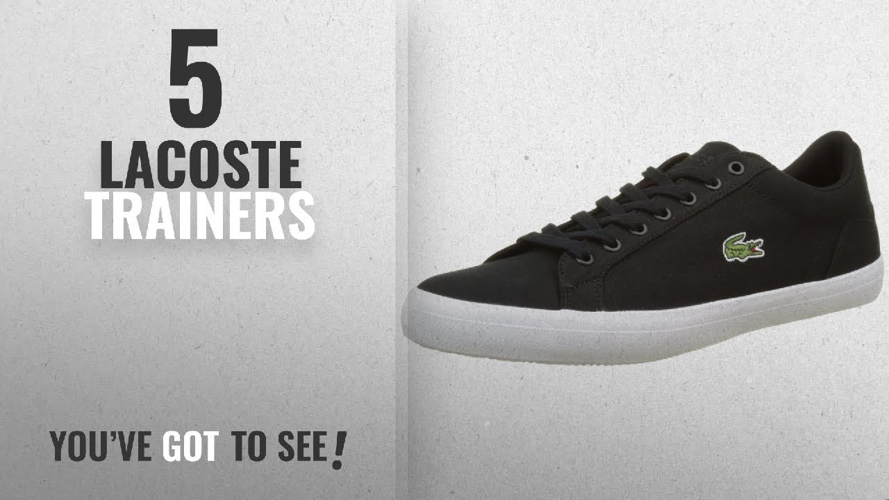 541ca2582b6759 Top 10 Lacoste Trainers  2018   Lacoste Lerond BL 2