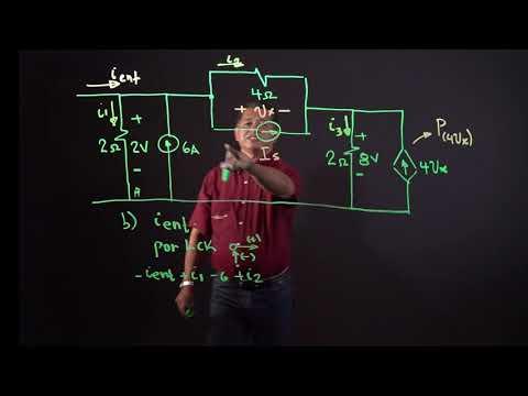 Análisis de circuitos Eléctricos (Problema tipo examen)| Ejercicio 1из YouTube · Длительность: 8 мин26 с