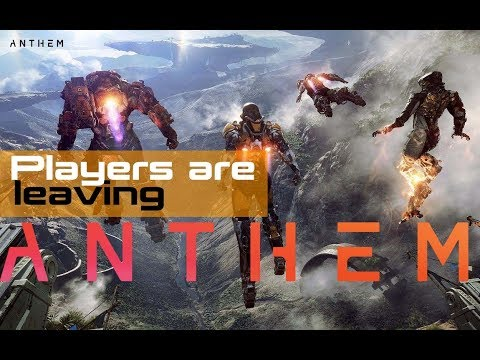 Players are leaving Anthem