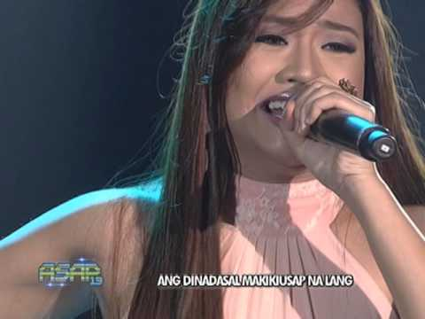 Morissette Amon sings Akin Ka Na Lang on ASAP
