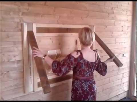 Creare un tavolo magico che scompare e diventa un quadro con bassorilievo youtube - Tavolo a muro fai da te ...