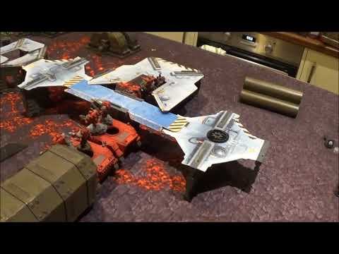 8th Edition Battle Report - Mordian Iron Guard Vs Blood Angels - 1500pts