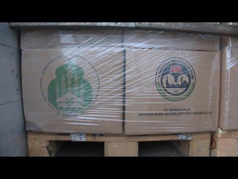Turqia ndihmon me 5000 pako ushqimore