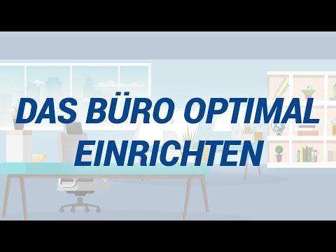 Büro optimal einrichten in 5 Schritten