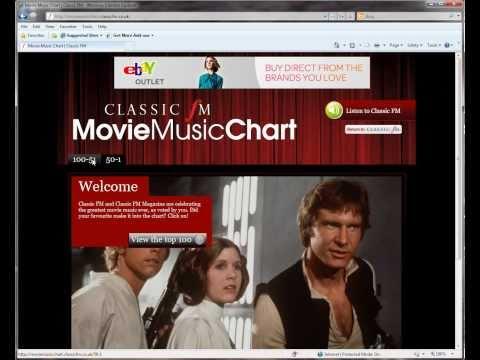 Classic FM Movie Music Chart (2010)