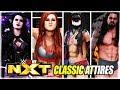 WWE 2K19 TOP 10 BEST NXT CLASSIC ATTIRES (Becky Lynch, Seth Rollins, Alexa Bliss)
