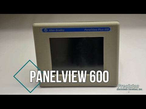 Allen Bradley PanelView 600 Repair - YouTube