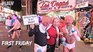 First Friday on Fremont St! | Vlog 124