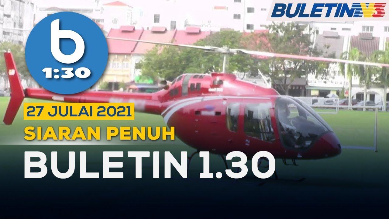 Salah Guna Kebenaran, Ambil 'Nasi Ganja' Dengan Helikopter | Buletin 1.30, 27 Julai 2021
