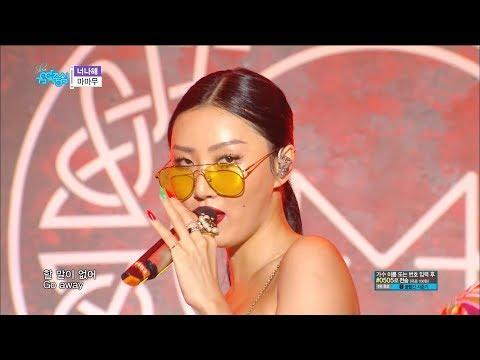 【TVPP】MAMAMOO – Egoistic, 마마무 – 너나 해 @Show Music Core Live