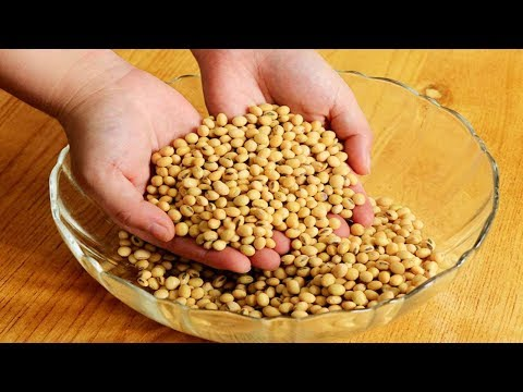 黃豆不要磨豆漿也別發豆芽了,涼水泡一泡,滿屋飄香,做一次能吃半月【夏媽廚房】