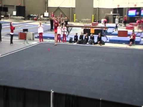 Jessica Juncaj (2014) - Floor - Athlete Warrior 2012
