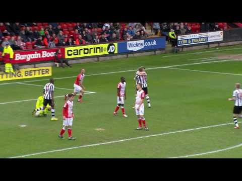 Crewe Alexandra 2-2 Notts County: Sky Bet League Two Highlights 2016/17 Season