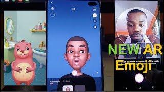 Comment Créer et Utiliser des AR Emoji Galaxy S10,S10 Plus