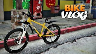 GTA V: Bike Vlog trilha na montanha