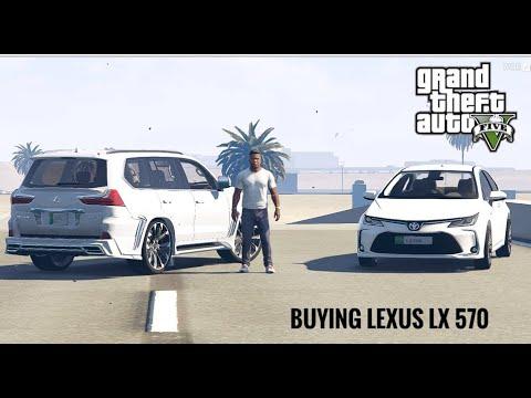 Franklin Buying Lexus LX 570 2019   Real Life Mod # 162 l GTA 5   UrduHindi   Leon Gaming