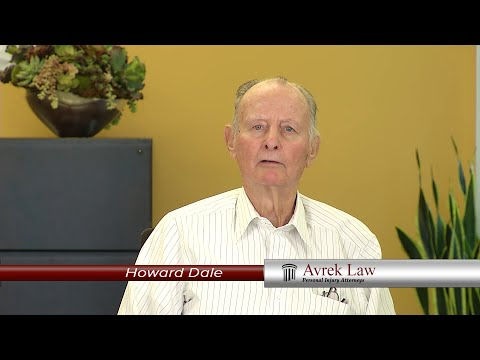 Car Accident Lawyer Avrek Law Client Testimonial Howard