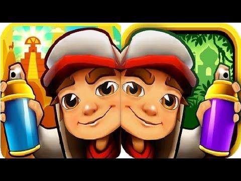 Subway Surfers Peru VS Singapore iPad Gameplay for Children HD #11
