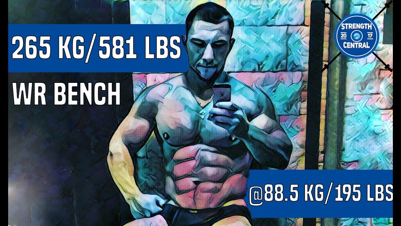 Download This Russian Dude Is A Record Breaking Machine On The Bench