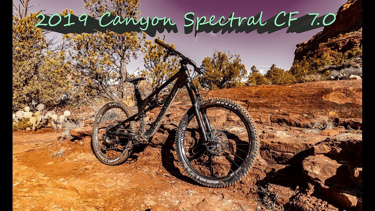 2019 Canyon Spectral CF 7 0 Review Sedona, AZ Grand Central Trail