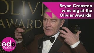 bryan cranston wins big at the olivier awards 2018