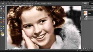 Coloring Shirley Temple