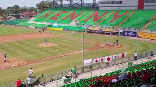 MONDIALI UNDER 15 PANAMA  Giappone vs Chinese Taipei 1 a 1 fine terzo inning