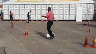 "Ninebot ONE E+ Self Balancing Unicycle - Kontakta 2018 - ""Familientreffen"""