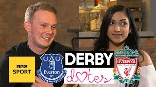 Derby Dates: Everton v Liverpool - Can love conquer football rivalries? - BBC Sport