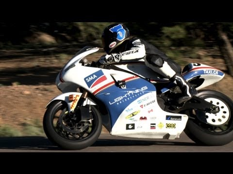 Pikes Peak 2013 Motorcycle Practice Sessions