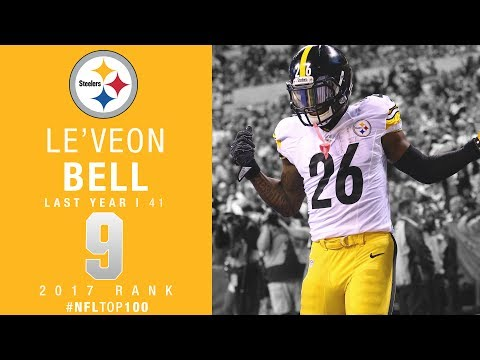 Thumbnail: #9: Le'Veon Bell (RB, Steelers) | Top 100 Players of 2017 | NFL