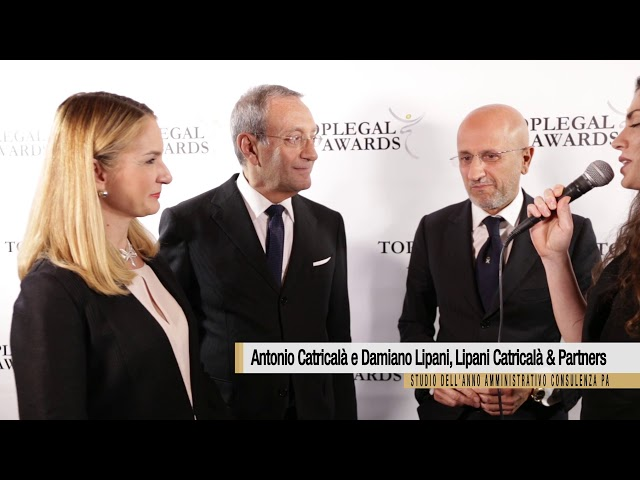 Antonio Catricalà e Damiano Lipani, Lipani Catricalà & Partners - TopLegal Awards 2018