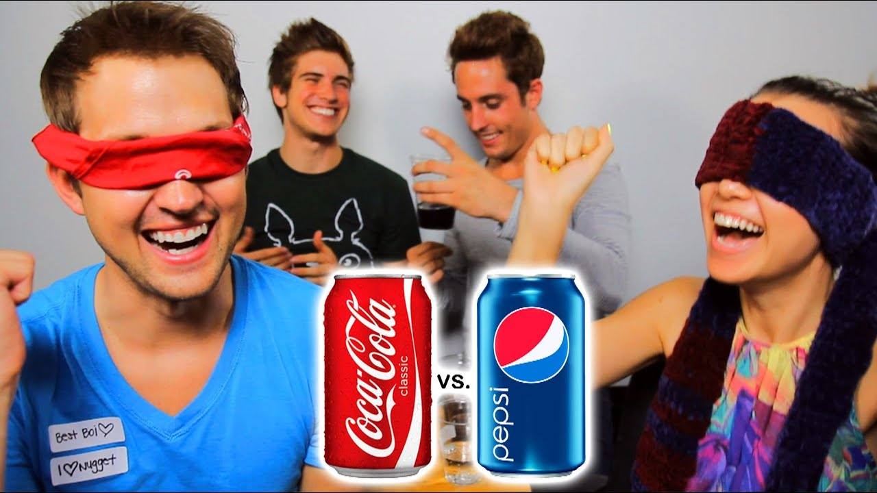 Image result for coke vs pepsi taste test