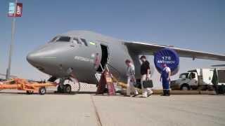 Dubai Airshow 2015 Day 3 Antonov An-178 DefenseWebTV