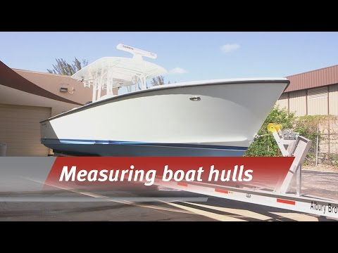 Reverse engineering a boat hull