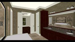 Craftsman House Plan Walk Through