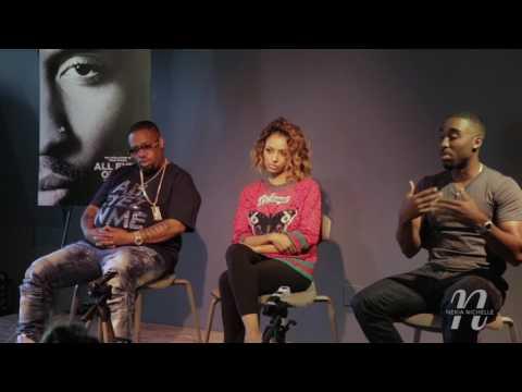 "Demetrius Shipp, Kat Graham & LT Hutton Discuss ""All Eyez On Me"" & Tupac"