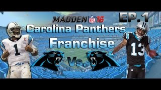 Madden NFL 16 PS4 | Carolina Panthers Franchise EP.1: A New Era 2017 Video