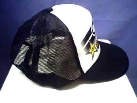Rockstar Energy Drink Snapback Baseball Hat
