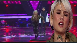 Agnez Mo Menyanyikan New Rules | Best Vocal | Keren Banget| Wow | Viral |The Voice Kids