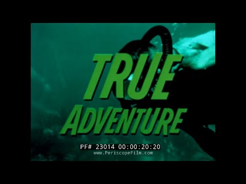 TRUE ADVENTURE TV SHOW  U.S. COAST GUARD RESCUE AT SEA   23014