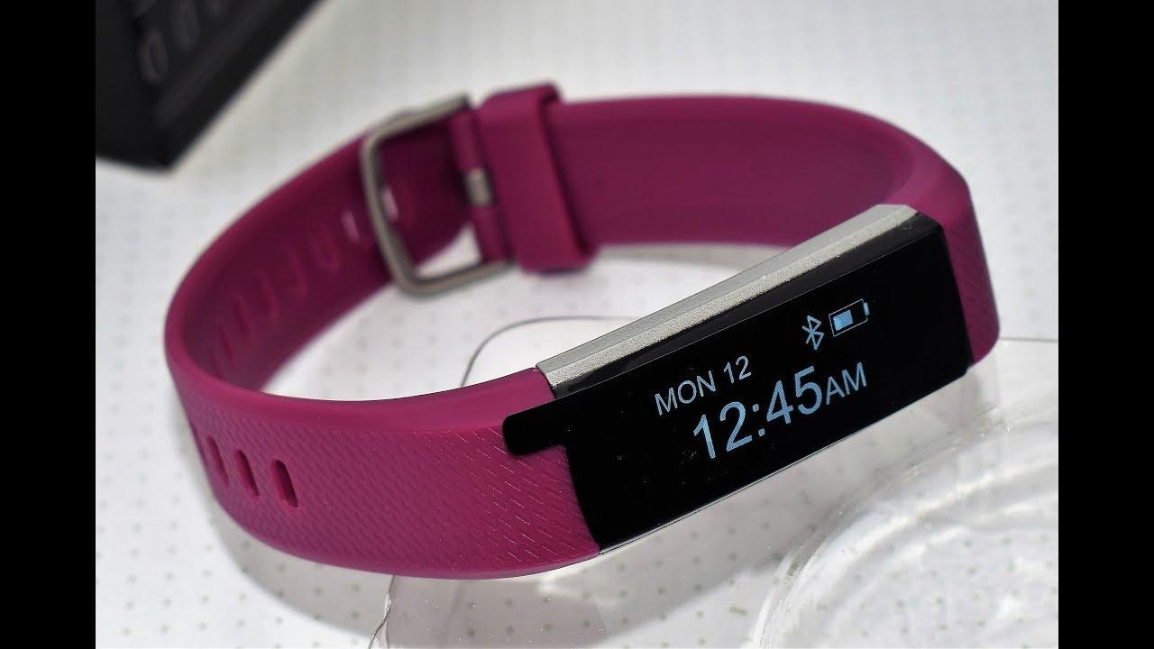 67ec21420163 Pulsera Inteligente de Actividad Fitness Tracker, CHEREEKI