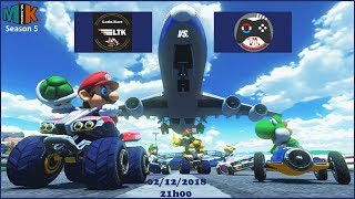 [Mario Kart 8 Deluxe] MKU Season 5 - Latin Kart vs. Team Luxembourg 140# (Replayed)