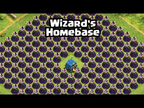Every Troops VS Wizard Tower Base | Clash Of Clans