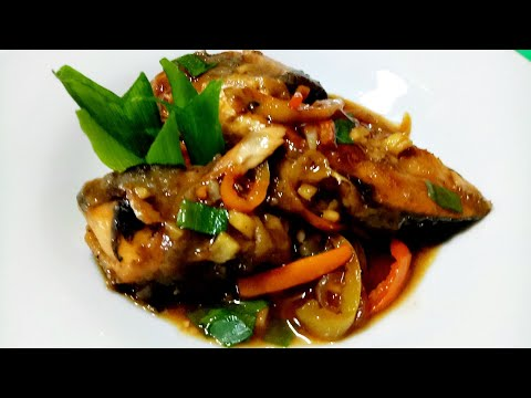 How To Cook Fish Escabeche Or Sweet And Sour Fish Using Leftover Fried Fish