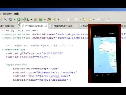 How to create a simple Google Map app in Android