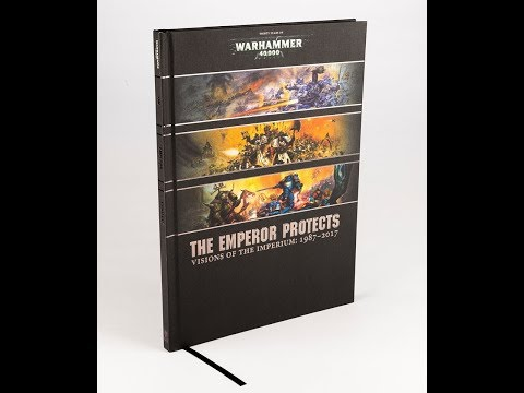 The Emperor Protects - Collected Visions 1987-2017 - Store Anniversary Exclusive Art book (WH40K)